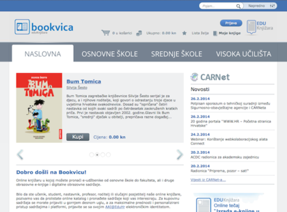 Bookvica - Digital Education Platform